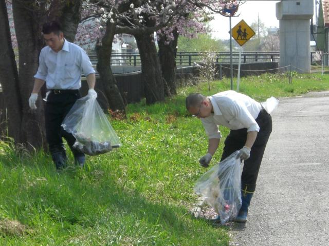 清掃奉仕活動(毎年春・秋)